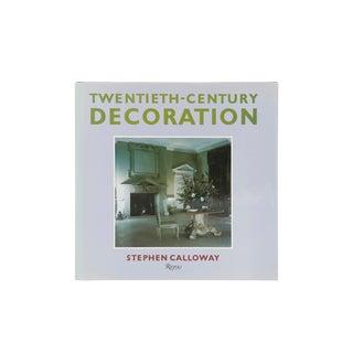 Twentieth-Century Decoration by Stephen Calloway For Sale