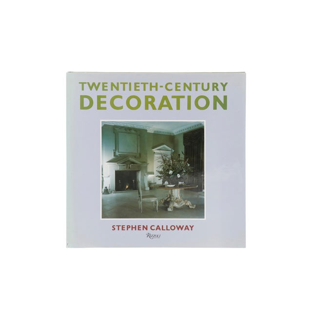 Twentieth-Century Decoration by Stephen Calloway For Sale