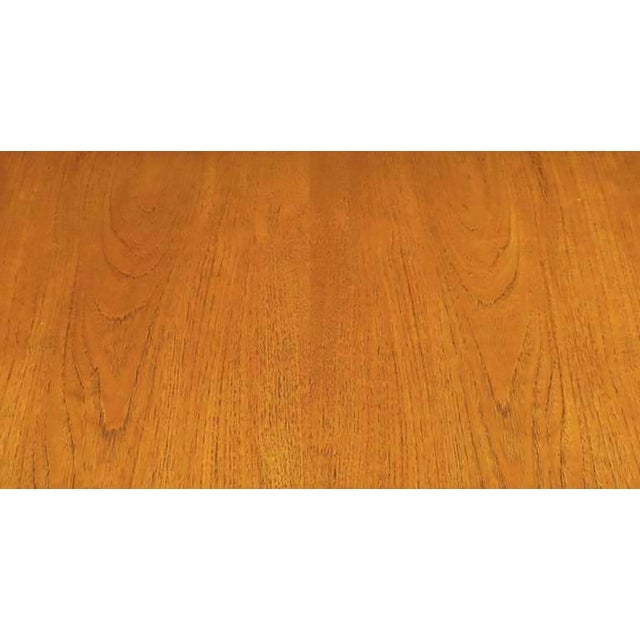 Brown Harvey Probber Walnut & Mahogany Parsons Dining Table For Sale - Image 8 of 8