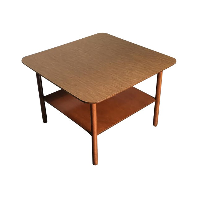 Mid-Century Modern Corner End Table - Image 1 of 10