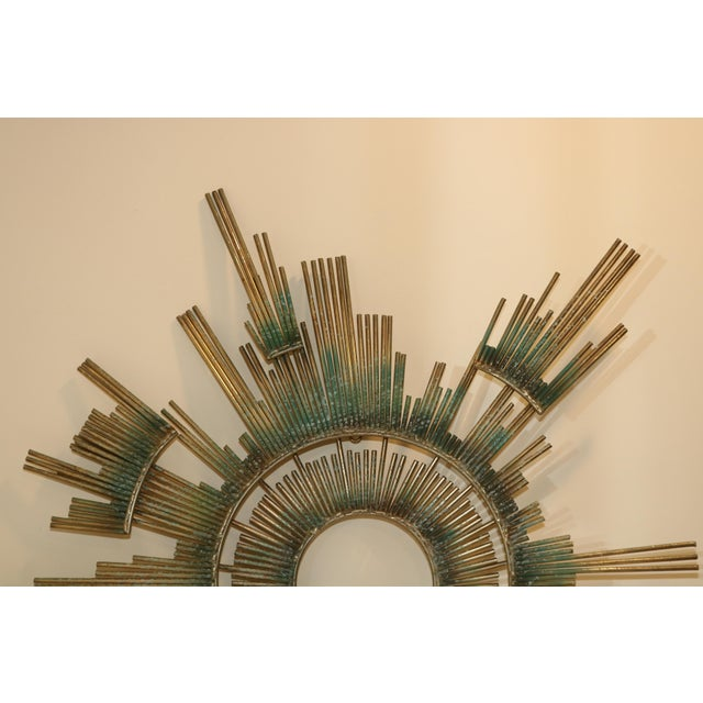 Up for sale is a Curtis Jere Retro Modern Abstract Wall Sculpture Brass w/ Patina. Hand signed and dated 1988. Sculpture...