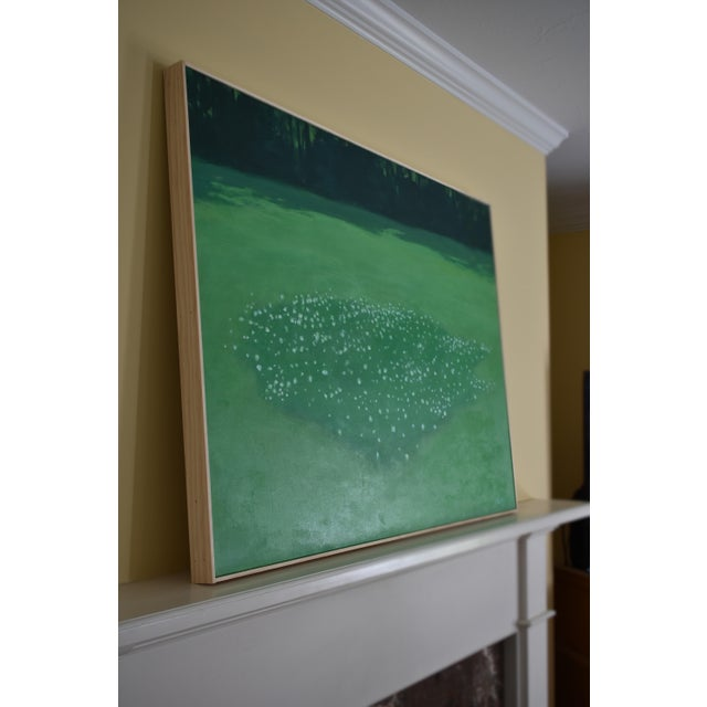 """Patch of Clover"", Contemporary Painting by Stephen Remick For Sale - Image 9 of 11"