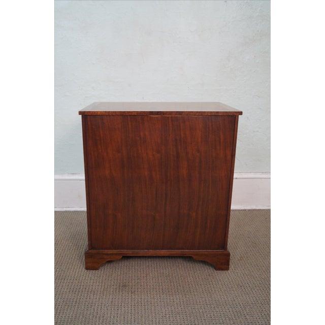 Baker George II English Style Knee Hole Desk - Image 4 of 10