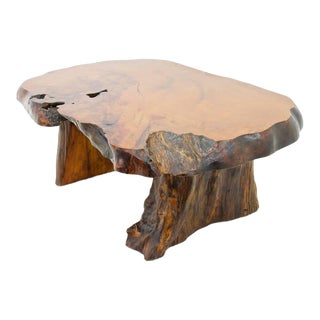 Solid Root Wood Coffee Table, 1960s For Sale