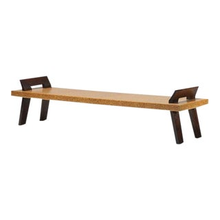 PAUL FRANKL Bench, Johnson Furniture Company ca. 1950 For Sale
