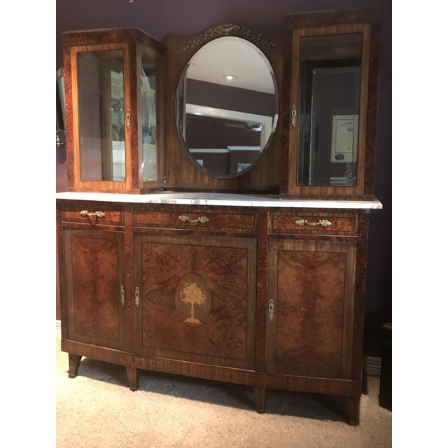 Antique French Rosewood Server - Image 2 of 5