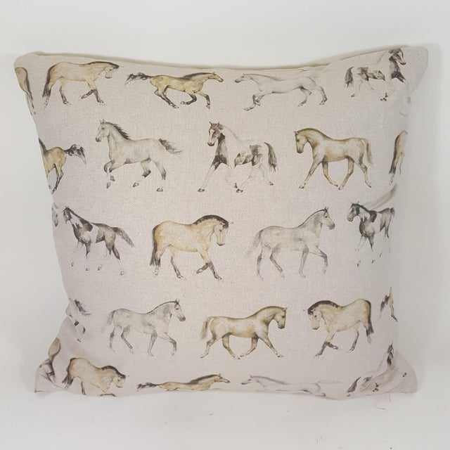 Horses Accent Pillow For Sale - Image 13 of 13