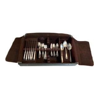 65pc Gorham Sterling Silver Lansdowne Flatware Set For Sale