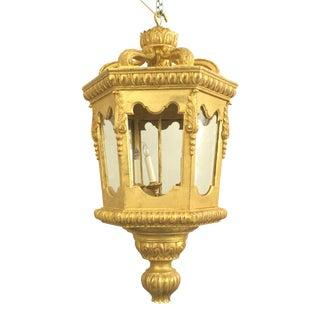 Italian Rococo Gilt Lanterns For Sale