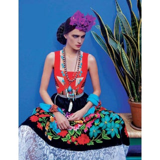 """Vogue 13"" Mexico City Portrait Photograph For Sale"