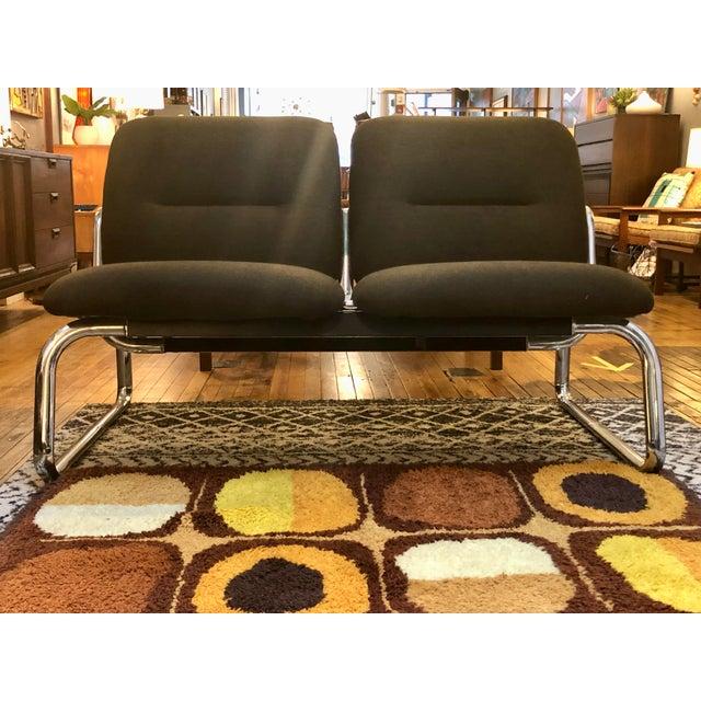 Vintage Steelcase Tandem Bench/Loveseat For Sale - Image 12 of 12