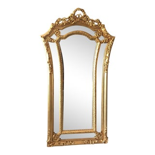 French Louis XVI Floor Mirror