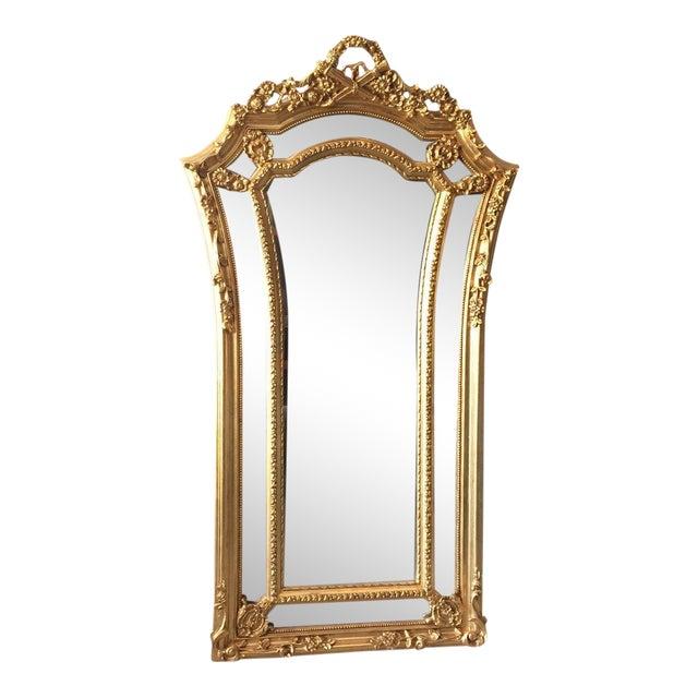French Louis XVI Floor Mirror For Sale