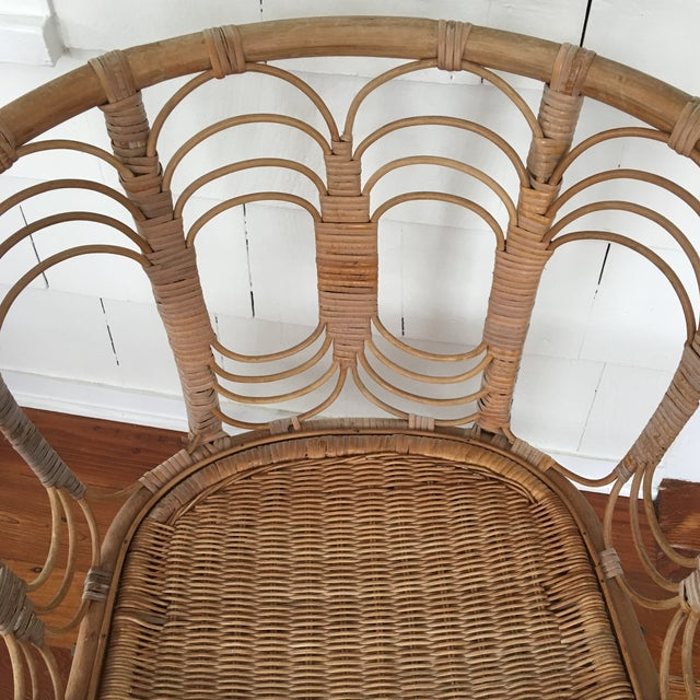 Vintage Rattan Chair - Image 7 of 10