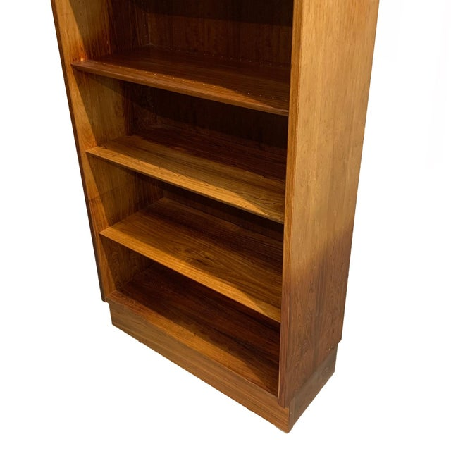 1960s Vintage Danish Rosewood Bookcase For Sale - Image 5 of 6