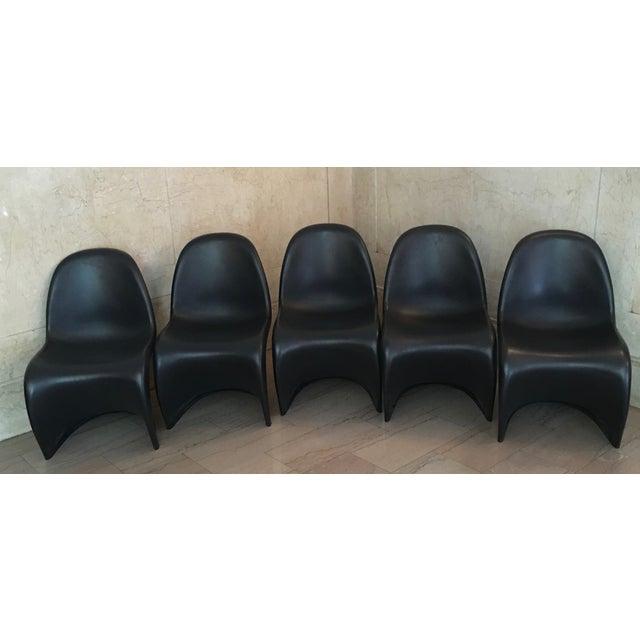 Verner Panton S Chairs - Set of 5 - Image 4 of 10