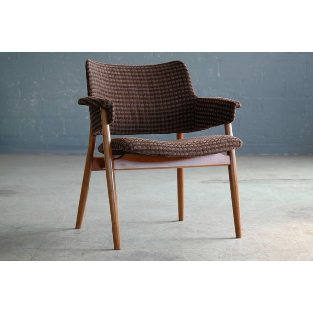 Midcentury Hans Olsen Style Lounge or Accent Chair For Sale - Image 10 of 10