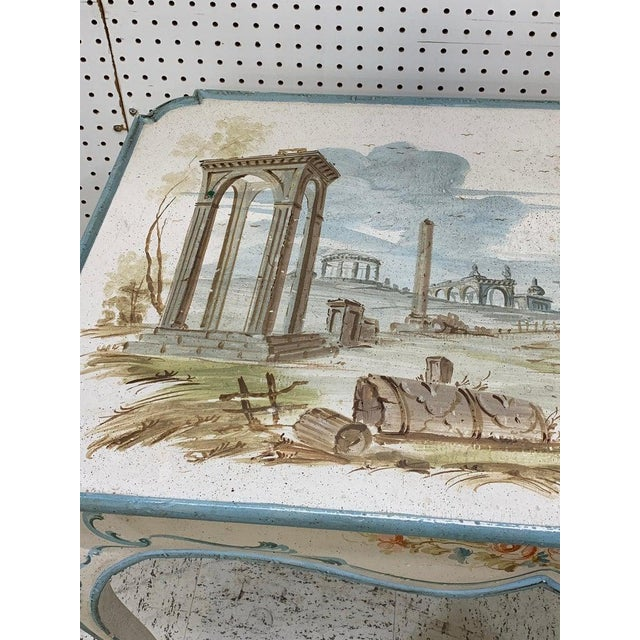Mid 20th Century Venetian Painted Table or Desk For Sale - Image 5 of 11