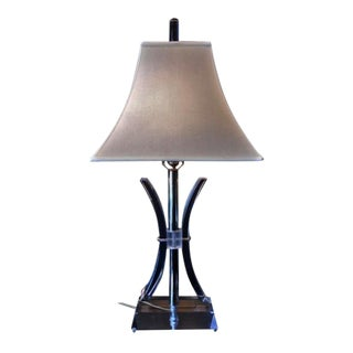 """Vintage """"Rit Co"""" Acrylic Table Lamp For Sale"""