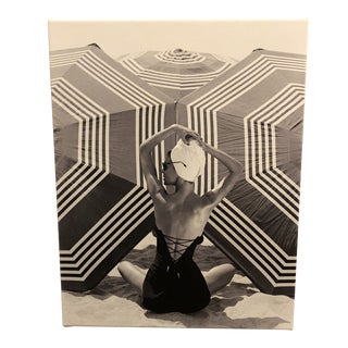Swim Fashion Model Photo on Canvas For Sale