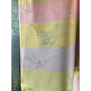 Silk Rayon Double Jacquard Upholstery Fabric For Sale