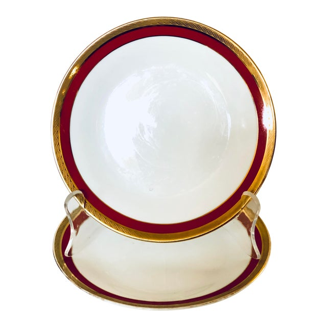 Pair of Ginori Small Plates For Sale