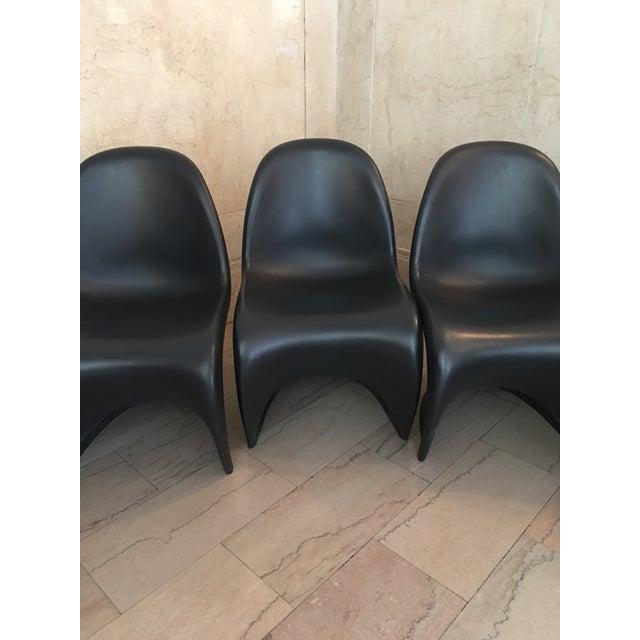 Verner Panton S Chairs - Set of 5 - Image 9 of 10