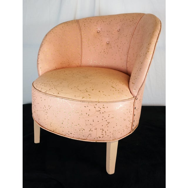 Deco Shell Club Chair - Image 3 of 9