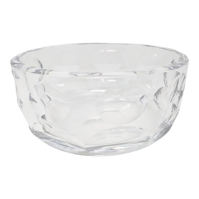 Vintage Orrefors Crystal Bowl For Sale