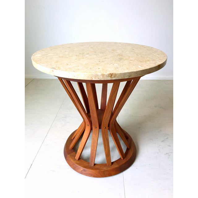 Edward Wormley for Dunbar Wheat Tables - Pair - Image 5 of 6