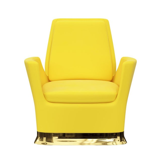 Art Deco Future 1st Lounge Chair by Artist Troy Smith - Contemporary Design - Bespoke Furniture - Handmade For Sale - Image 3 of 8