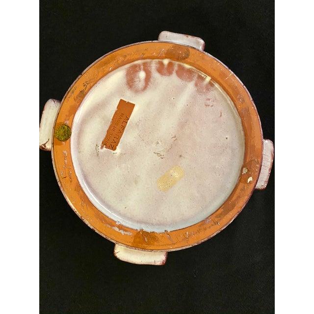 Mid-Century Spanish Alfaraz Pottery Catchall For Sale In Washington DC - Image 6 of 7