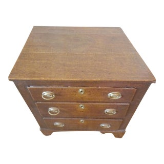 Antique English Country Chest of Drawers