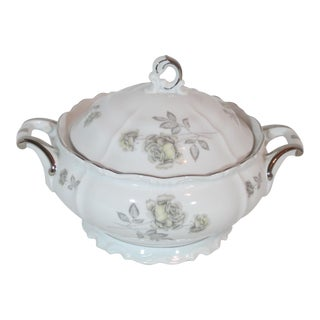 Edelstein Co. German Round Covered Vegetable Tureen For Sale