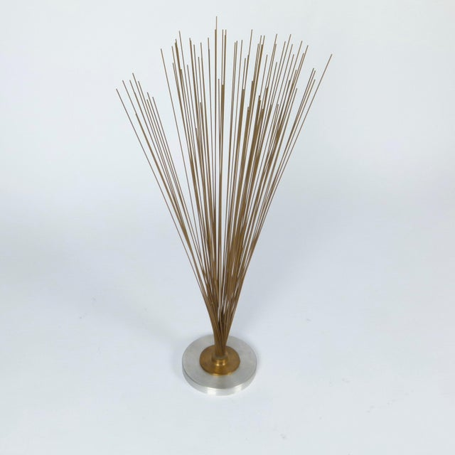 """""""Spray"""" sculpture in the style of Harry Bertoia. The piece was made in the 1960s."""