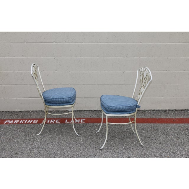 Metal Fruit Accent Patio Set - Set of 5 For Sale - Image 9 of 13