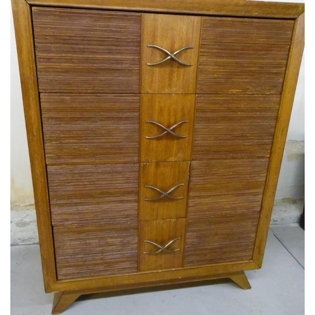 Brown Mid-Century Modern Chest of Drawers by Paul Frankl For Sale - Image 8 of 9