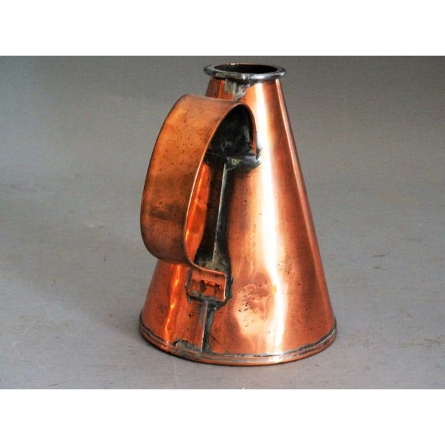 English Copper Pint Tavern Ale Jug For Sale - Image 4 of 8