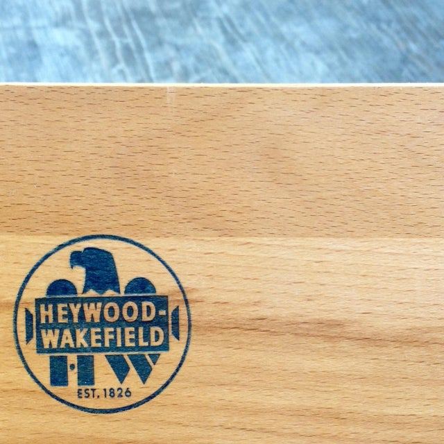 Heywood-Wakefield Topaz Credenza For Sale - Image 5 of 5