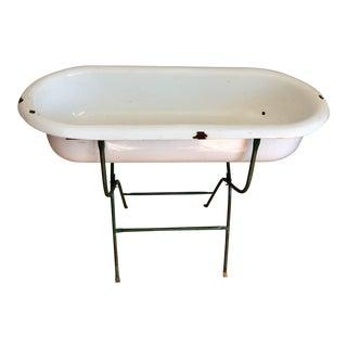 Vintage Baby Bath Planter