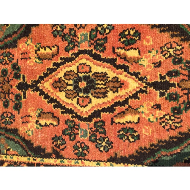 Hamadan Persian Rug - 1′6″ × 2′6″ - Image 7 of 9