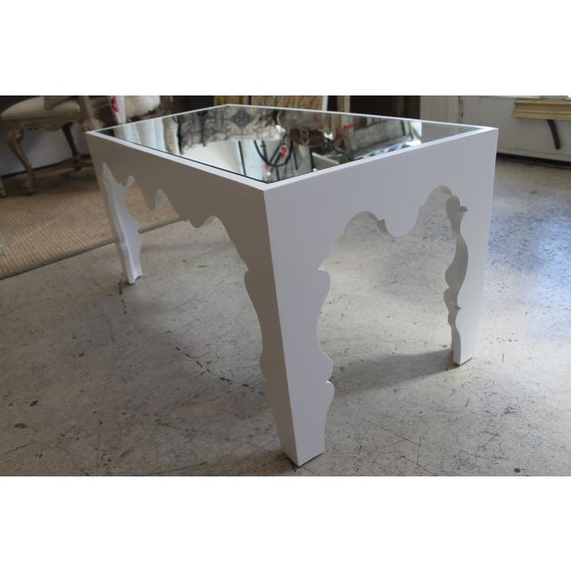 White Lacquered Coffee Table - Image 7 of 7