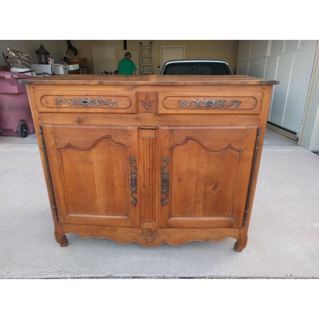 Late 18th Century Louis XVI Cherry Credenza - Image 2 of 13