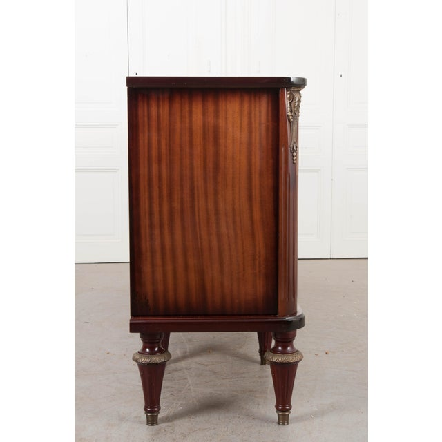 French Vintage Louis XVI-Style Enfilade For Sale - Image 11 of 12