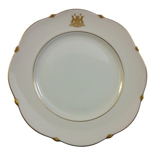 South Africa Villeroy & Boch Old Coat of Arms Dinnerware Plate For Sale