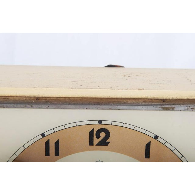 Art Deco Art Deco Wall Clock by Chomutov, 1930s For Sale - Image 3 of 7