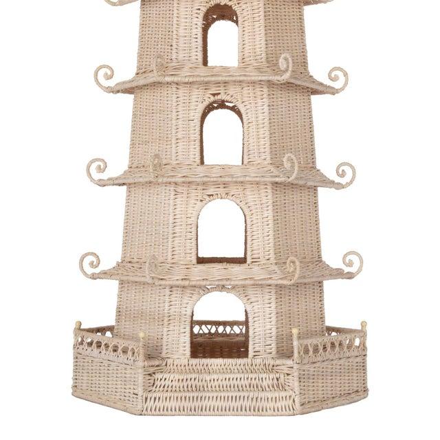 Boho Chic Tall Pagoda For Sale - Image 3 of 6