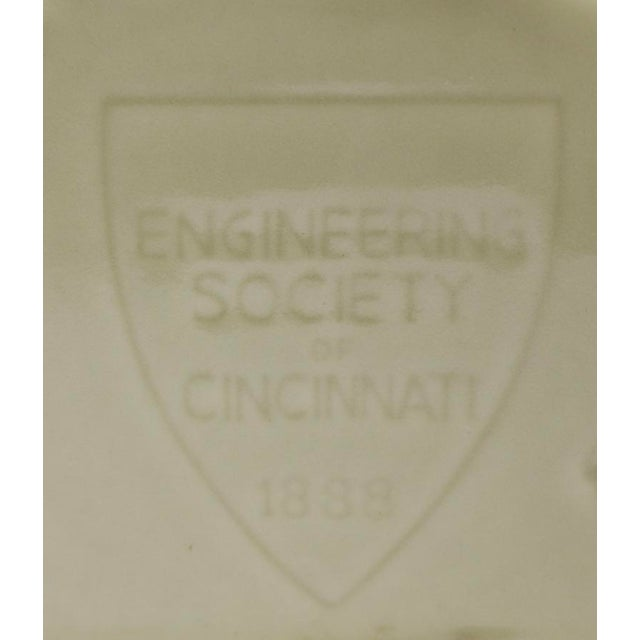 Pr. Rookwood Raven Bookends Engineering Society of Cincinnati 1888 For Sale In New York - Image 6 of 11