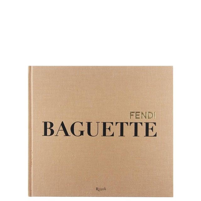 Italian Fendi Baguette Oversized Coffee Table Book For Sale - Image 3 of 3