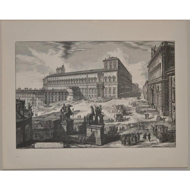 Black Piranesi Print by Sidney Z Lucas C.1950 For Sale - Image 8 of 8